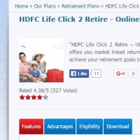 Should you opt for ULIPs – HDFC Life Click 2 Retire plan review